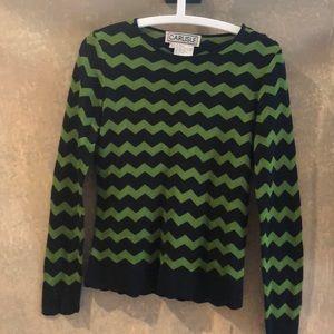 Carlisle silk blend knitted blouse